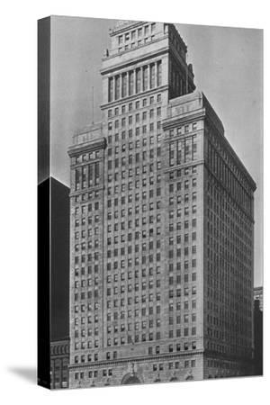 The SW Straus & Co Building, Chicago, Illinois, 1924-Unknown-Stretched Canvas Print