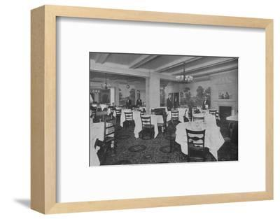 Breakfast Room, Roosevelt Hotel, New York City, 1924-Unknown-Framed Photographic Print