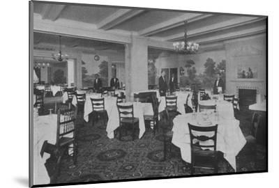 Breakfast Room, Roosevelt Hotel, New York City, 1924-Unknown-Mounted Photographic Print