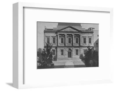 The new American Wing of the Metropolitan Museum, New York City, 1924-Unknown-Framed Photographic Print