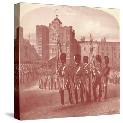 'The Grenadier Guards at St. James's Palace', 1909-Unknown-Stretched Canvas Print