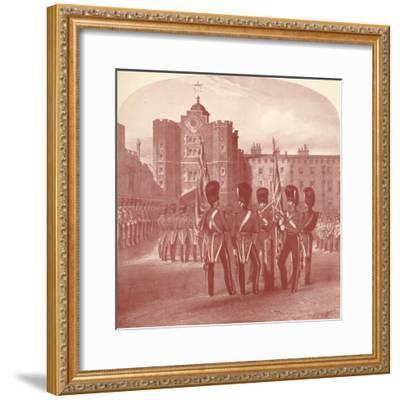 'The Grenadier Guards at St. James's Palace', 1909-Unknown-Framed Giclee Print