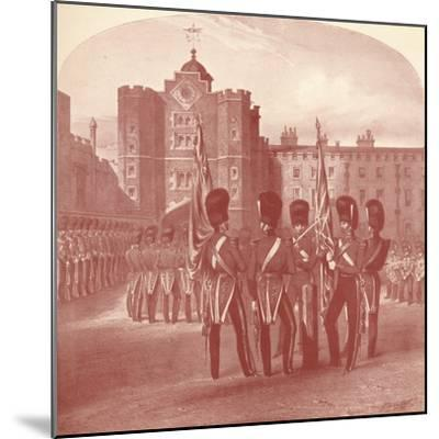 'The Grenadier Guards at St. James's Palace', 1909-Unknown-Mounted Giclee Print