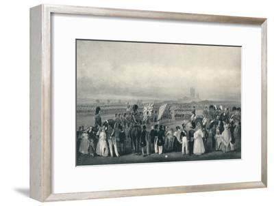 'Presenting New Colours to the 93rd Highlanders, Oct. 7th, 1834', 1834 (1909)-Unknown-Framed Giclee Print