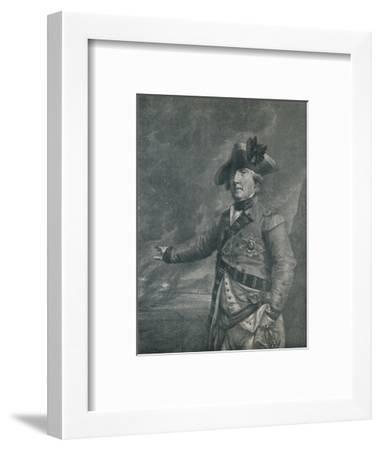 'George Augustus Elliot (Lord Heathfield), Governor of Gibraltar', 1788 (1909)-Francesco Bartolozzi-Framed Giclee Print