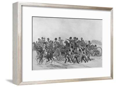'The Royal Horse Artillery', 1846 (1909)-Unknown-Framed Giclee Print