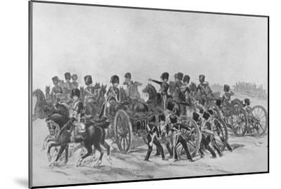 'The Royal Horse Artillery', 1846 (1909)-Unknown-Mounted Giclee Print