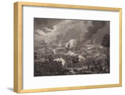 'The Battle of Waterloo, June 18, 1815', 1817 (1909)-Richard Gibson Reeve-Framed Giclee Print
