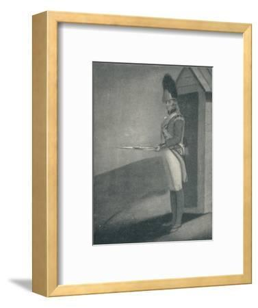 'Private, Grenadier Guards (1760), 1760 (1909)-Unknown-Framed Giclee Print