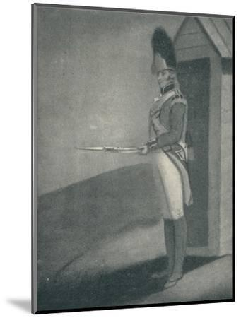 'Private, Grenadier Guards (1760), 1760 (1909)-Unknown-Mounted Giclee Print