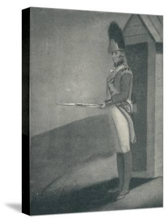 'Private, Grenadier Guards (1760), 1760 (1909)-Unknown-Stretched Canvas Print