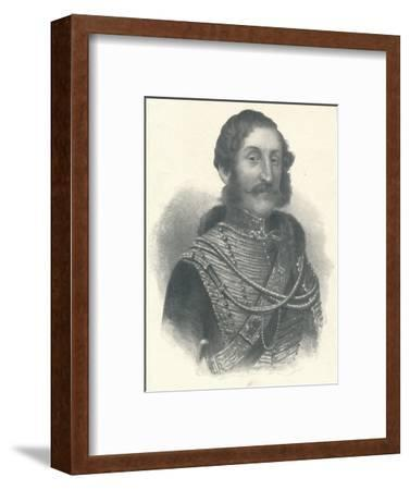 'James Thomas Brudenell, 7th Earl of Cardigan', 1855 (1909)-Unknown-Framed Giclee Print
