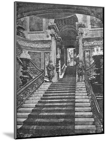 'Grand Staircase, Buckingham Palace', 1890-Unknown-Mounted Giclee Print