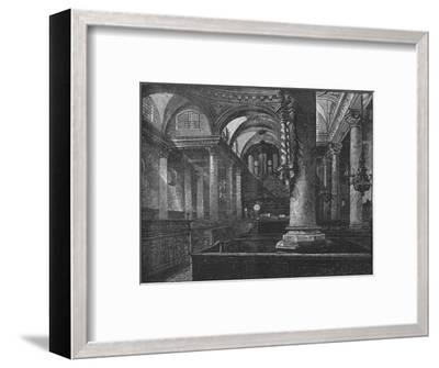 'St. Stephen's, Walbrook', 1890-Unknown-Framed Giclee Print