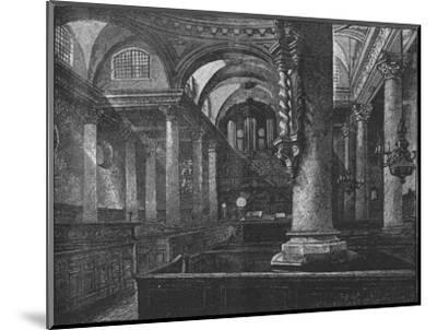 'St. Stephen's, Walbrook', 1890-Unknown-Mounted Giclee Print