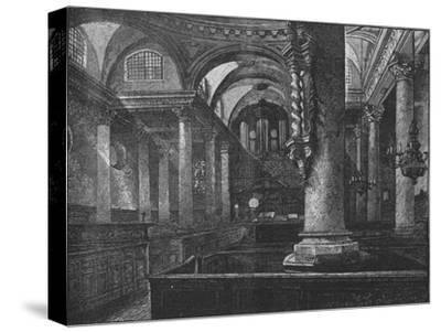'St. Stephen's, Walbrook', 1890-Unknown-Stretched Canvas Print