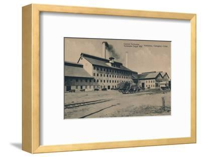 'Central Vertientes Sugar Mill, Camaguey, Cuba', c1910-Unknown-Framed Photographic Print