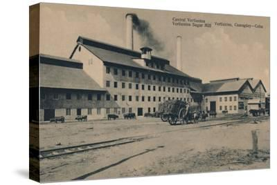 'Central Vertientes Sugar Mill, Camaguey, Cuba', c1910-Unknown-Stretched Canvas Print