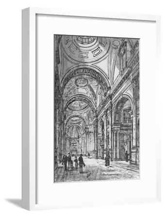 'Interior of the Oratory', 1890-Unknown-Framed Giclee Print