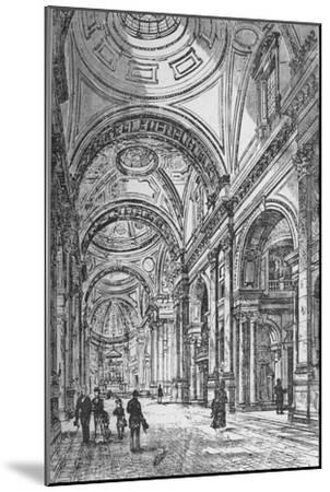 'Interior of the Oratory', 1890-Unknown-Mounted Giclee Print
