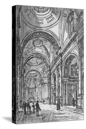 'Interior of the Oratory', 1890-Unknown-Stretched Canvas Print