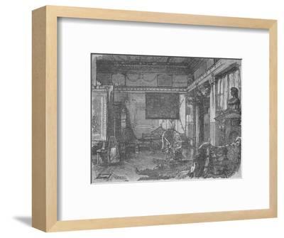 'Alma Tadema's Former Studio', 1890-William Hatherell-Framed Giclee Print