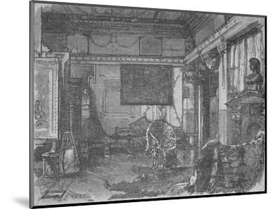'Alma Tadema's Former Studio', 1890-William Hatherell-Mounted Giclee Print