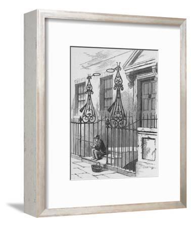 'Extinguishers, Berkeley Square', 1890-Unknown-Framed Giclee Print
