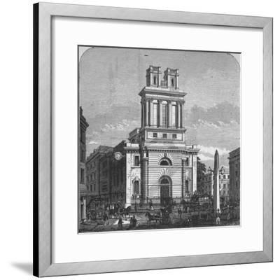 'St. Mary Woolnoth', 1890-Unknown-Framed Giclee Print