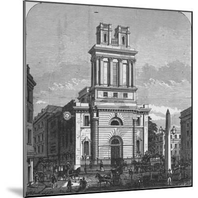 'St. Mary Woolnoth', 1890-Unknown-Mounted Giclee Print
