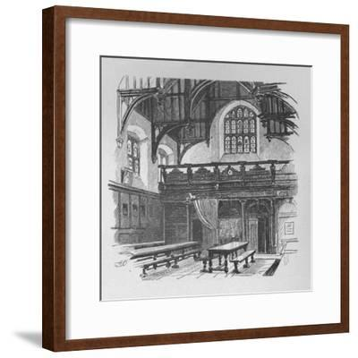 'Gray's Inn Hall', 1890-Unknown-Framed Giclee Print