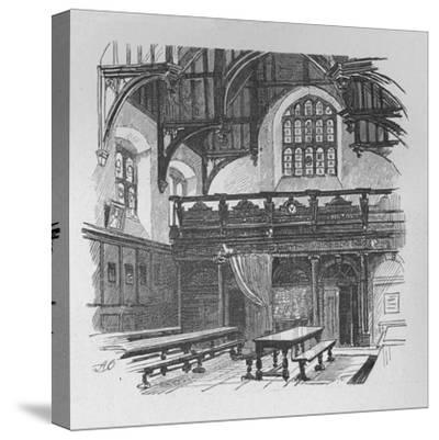 'Gray's Inn Hall', 1890-Unknown-Stretched Canvas Print