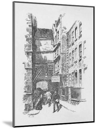 'Gateway to Great St. Helen's, and Almshouses', 1890-Unknown-Mounted Giclee Print