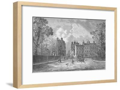 'Berkeley Square', 1890-Unknown-Framed Giclee Print