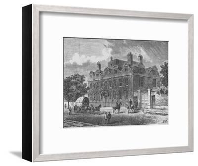 'Fairfax House, Putney', 1890-Unknown-Framed Giclee Print