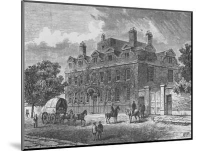 'Fairfax House, Putney', 1890-Unknown-Mounted Giclee Print