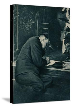 'Vladimir Ilich Lenin, Russian Bolshevik leader, Russia, July, 1921-Unknown-Stretched Canvas Print