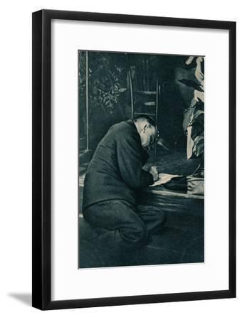 'Vladimir Ilich Lenin, Russian Bolshevik leader, Russia, July, 1921-Unknown-Framed Giclee Print