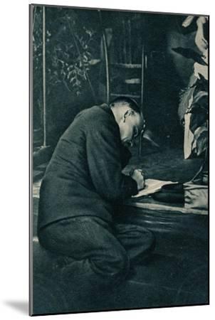 'Vladimir Ilich Lenin, Russian Bolshevik leader, Russia, July, 1921-Unknown-Mounted Giclee Print