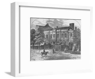 'Cromwell's House, Highgate', 1890-Unknown-Framed Giclee Print