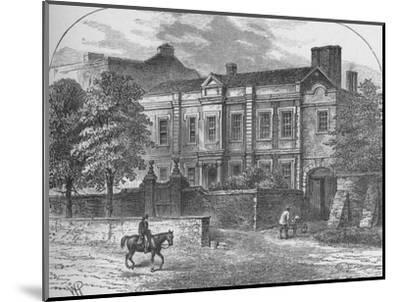 'Cromwell's House, Highgate', 1890-Unknown-Mounted Giclee Print