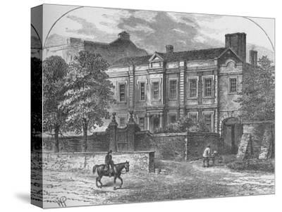 'Cromwell's House, Highgate', 1890-Unknown-Stretched Canvas Print