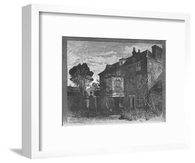 'Hogarth's House, Chiswick', 1890-Unknown-Framed Giclee Print