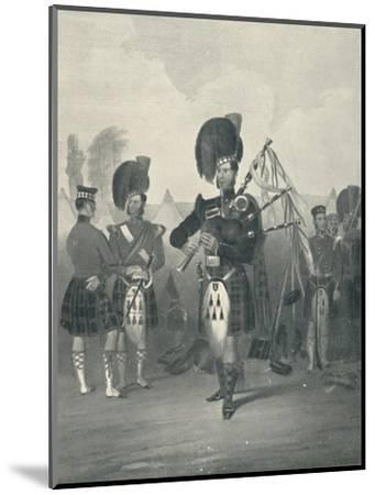 'Piper, 42nd Royal Highlanders', c19th century, (1909)-Unknown-Mounted Giclee Print