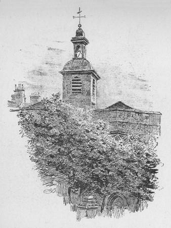 'Belfry, St. Helen's Church', 1890-Unknown-Framed Giclee Print