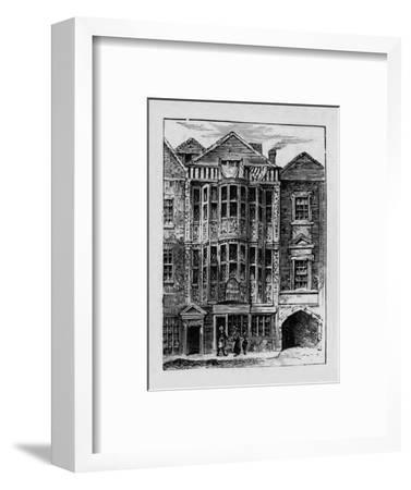 'Sir Paul Pindar's House', 1890-Unknown-Framed Giclee Print