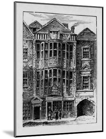 'Sir Paul Pindar's House', 1890-Unknown-Mounted Giclee Print