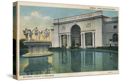 'Habana: Gran Casino Nacional. National Casino at Marianao', 1935-Unknown-Stretched Canvas Print