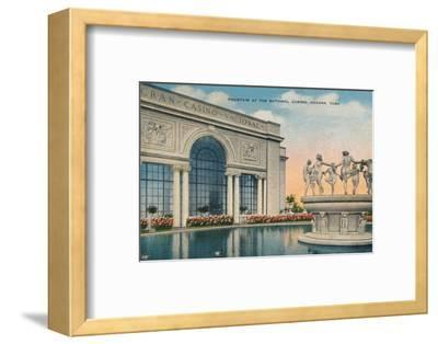 'Fountain at the National Casino, Havana, Cuba', c1910-Unknown-Framed Photographic Print