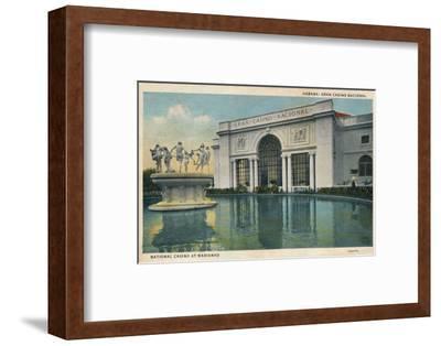 'Habana: Gran Casino Nacional. National Casino at Marianao', 1935-Unknown-Framed Photographic Print